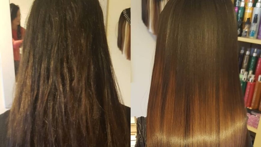 Refreshing Keratin Hair Treatments